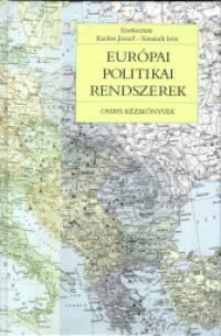 Kardos József - Simándi Irén - Európai politikai rendszerek