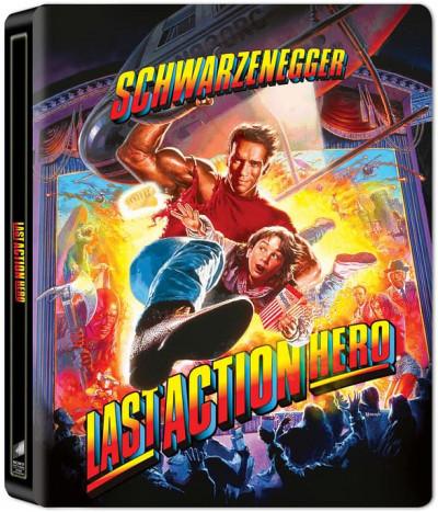 John Mctiernan - Az utolsó akcióhős  - limitált, fémdobozos változat- steelbook - 4K UltraHD+Blu-ray