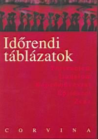 K. Bende Ildikó  (Szerk.) - Időrendi táblázatok