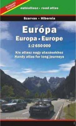 - Kompakt Európa autóatlasz