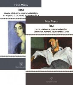 Füst Milán - Dr. Szilágyi Judit  (Szerk.) - Írni - I-II. kötet