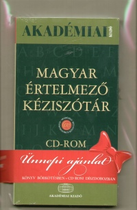 - Magyar értelmező kéziszótár