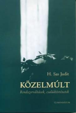 H. Sas Judit - Közelmúlt