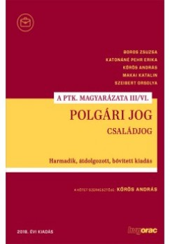 Dr. Kőrös András  (Szerk.) - Polgári jog III/VI.