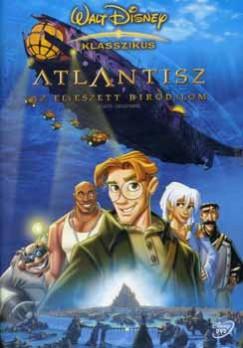 Gary Trousdale - Kirk Wise - Atlantisz - Az elveszett birodalom - DVD