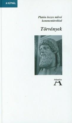 Platón - Miklós Tamás  (Szerk.) - Törvények