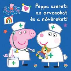 - Peppa malac - Peppa szereti az orvosokat és a nővéreket!