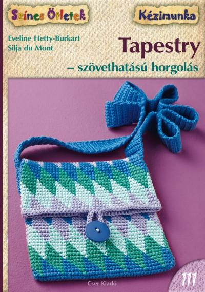 Silja Du Mont - Eveline Hetty-Burkart - Tapestry - szövethatású horgolás
