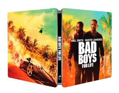 Adil El Arbi - Bilall Fallah - Bad Boys - Mindörökké rosszfiúk - steelbook - Blu-ray