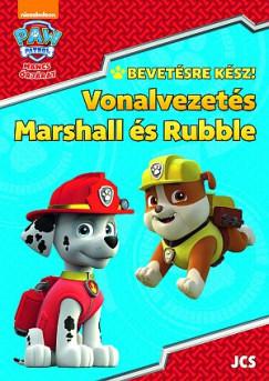 - Mancs Őrjárat - Bevetésre kész! - Vonalvezetés - Marshall és Rubble