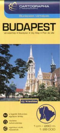 - Budapest várostérkép