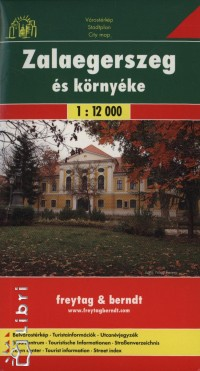 - Zalaegerszeg és környéke  1:12 000