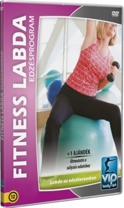 - Fitness labda edzésprogram - DVD