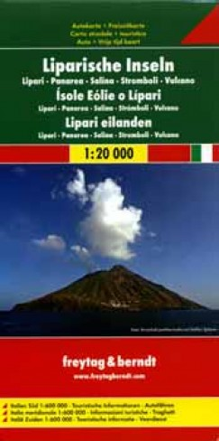 - Lipari-szigetek 1:20 000