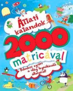 Ben Hubbard - Állati kalandok 2000 matricával