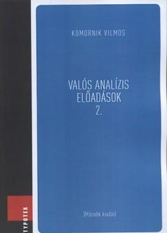 Komornik Vilmos - Valós analízis előadások 2.