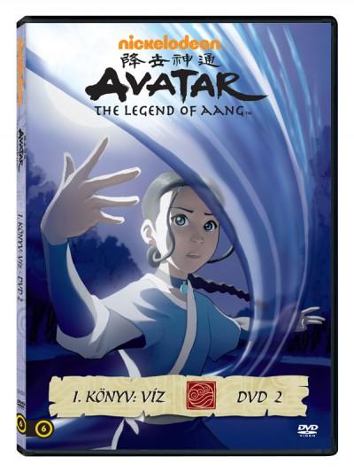 - Avatar: Aang legendája - I. könyv: Víz - DVD 2