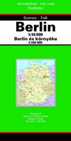 - Berlin várostérkép 1:15 000