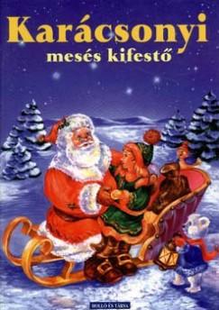 - Karácsonyi mesés kifestő