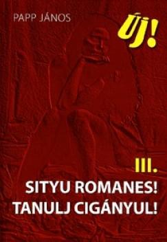 Papp János - Sityu Romanes! Tanulj cigányul!