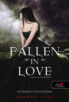 Lauren Kate - Fallen in love - Szerelemben - Puhatáblás