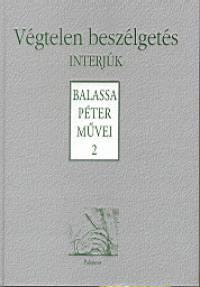 Balassa Péter - Végtelen beszélgetés - Interjúk
