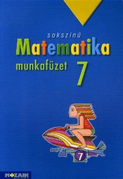 Kothencz Jánosné - Pintér Klára - Sokszínű matematika munkafüzet 7. osztály