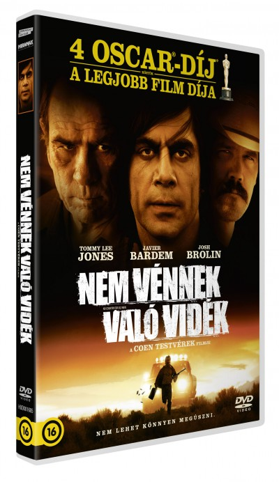 Joel Coen - Ethan Coen - Nem vénnek való vidék - DVD