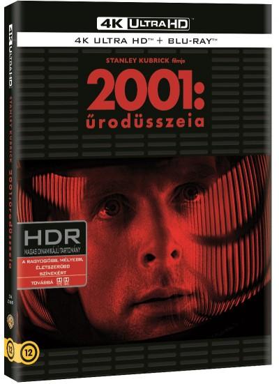 Stanley Kubrick - 2001: Űrodüsszeia - 4K UHD+Blu-ray