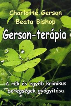 Beata Bishop - Charlotte Gerson - Gerson-terápia