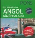 Langowski Judit - PONS - 333 szókártya - Angol középhaladó A2-B1