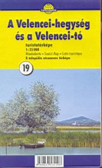 - A Velencei-hegység és a Velencei-tó turistatérképe