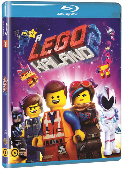 Trisha Gum - Mike Mitchell - A Lego-kaland 2. - Blu-ray