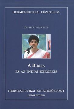 Chennattu Rekha, - A Biblia és az indiai exegézis