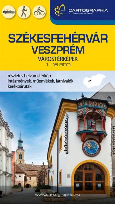 - Székesfehérvár-Veszprém várostérkép