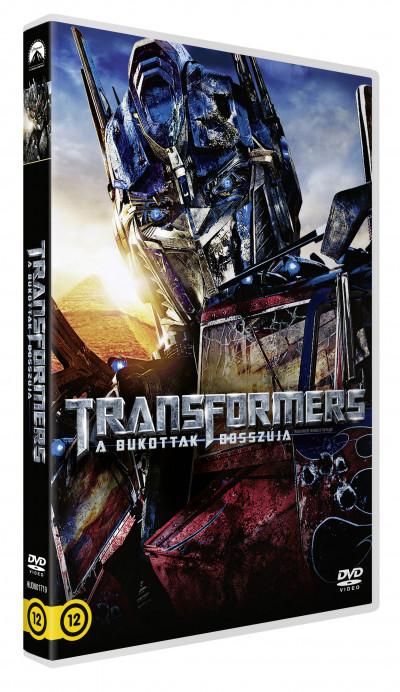Michael Bay - Transformers - A bukottak bosszúja - DVD