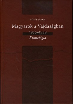Vékás János - Magyarok a Vajdaságban 1955-1959