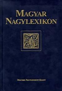 - Magyar Nagylexikon XIX. kötet