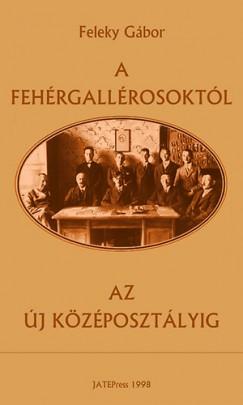Feleky Gábor - A fehérgallérosoktól az új középosztályig