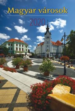 - Magyar városok falinaptár - 2020