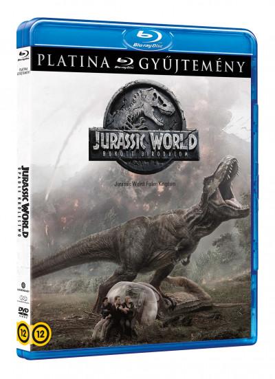 Colin Trevorrow - Jurassic World: Bukott birodalom (platina gyűjtemény) - Blu-ray