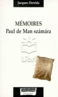 Jacques Derrida - Mémoires Paul de Man számára