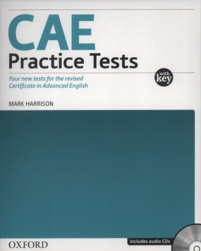 Mark Harrison - CAE Practice Tests with key