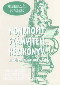 Dr. Pázmányi György - Nonprofit számviteli kézikönyv