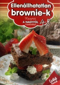 Liptai Zoltán - Nagy Emese  (Szerk.) - Receptek a Nagyitól 48. - Ellenállhatatlan brownie-k
