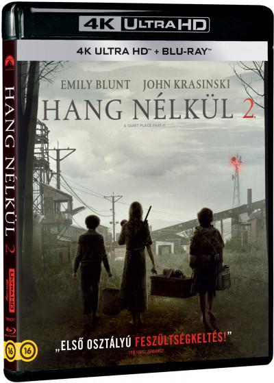 John Krasinski - Hang nélkül 2. - 4K Ultra HD + Blu-ray