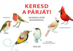- Keresd a párját! - Memóriajáték madarakkal