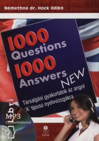 Némethné Hock Ildikó - 1000 Questions 1000 Answers New - MP3 CD melléklettel