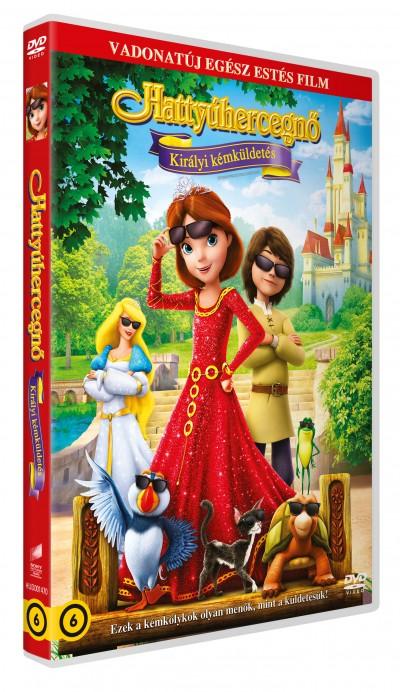 Richard Rich - Hattyú hercegnő: Királyi kémküldetés - DVD