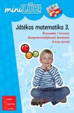 Marco Bettner - Erik Dignes - Heiner Müller - Játékos matematika 3. - Összeadás / kivonás